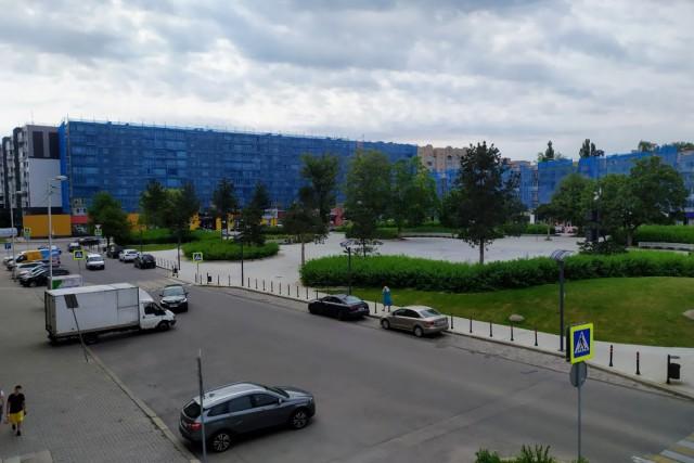 Дом возле музыкального фонтана в Калининграде украсят гигантским рисунком