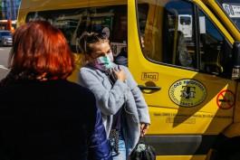 Калининградских перевозчиков оштрафовали на 1,9 млн рублей за пассажиров без масок