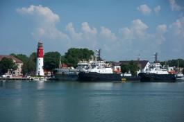 На укрепление северной дамбы морского канала в Балтийске выделили 595 млн рублей