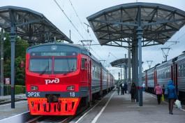 В выходные увеличили количество вагонов в пригородных поездах к морю