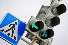 В пятницу в Калининграде отключат светофоры на двух перекрёстках