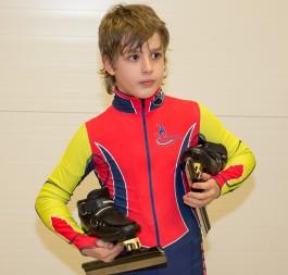 Калининградский конькобежец стал третьим на всероссийском турнире