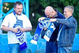 Кресла с Северной трибуны стадиона «Балтика» раздадут калининградским болельщикам