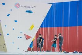 В Калининграде смонтировали скалодром мирового уровня