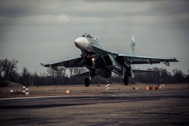 Российский Су-27 перехватил самолёт-разведчик США над Балтийским морем