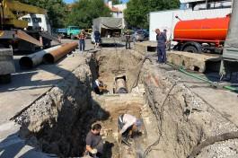 Из-за аварии на трубопроводе жители 27 улиц Калининграда остались без горячей воды