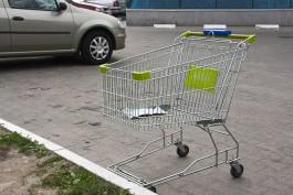 Сбитая тележкой в супермаркете жительница Калининграда требует 1 млн рублей