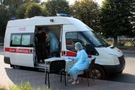 За две недели в Калининградской области привили от гриппа более ста тысяч человек