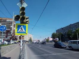 На улице Фрунзе в Калининграде не работают светофоры: движение затруднено