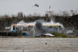 «Сумка с тротилом»: спецслужбы взорвали автобус в Калининграде