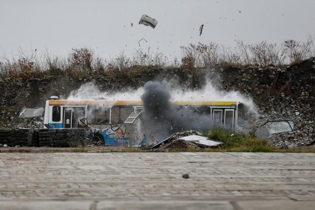 ВКалининграде ради учений взорвали автобус