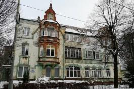 На улице Зоологической в Калининграде отремонтируют два исторических дома за 29 млн рублей