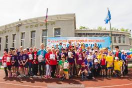 «Сила духа»: в региональном фестивале адаптивного спорта выступили 215 детей