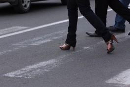 С начала года по вине пешеходов в регионе произошло 117 ДТП