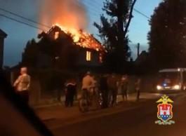 В Калининграде возбудили уголовное дело в отношении поджигателя дома на ул. Емельянова