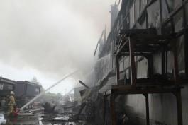 Алиханов: Пожар в Прегольском не станет катастрофой для владельца бизнеса