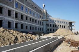 За месяц строительная готовность калининградского онкоцентра выросла на 5%
