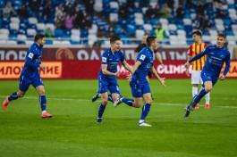 «Победа в ливень»: калининградская «Балтика» продолжает борьбу за выход в Премьер-лигу