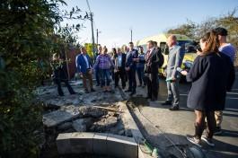 Жители улицы Муромской не могут пройти к домам из-за затянувшегося ремонта дороги
