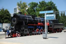 Старинный паровоз-памятник перевезут с Северного вокзала Калининграда в Гусев