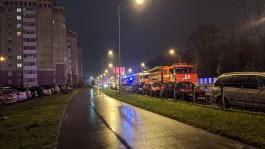 В Калининграде из горящего 14-этажного дома на улице Челнокова эвакуировали 78 человек