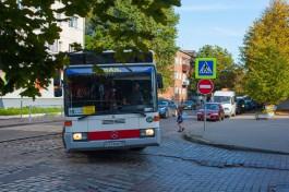 С 24 сентября всю улицу Киевскую в Калининграде сделают двусторонней