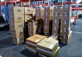 Таможенники нашли на грузовом складе «Храброво» 46 тысяч пачек безакцизных сигарет