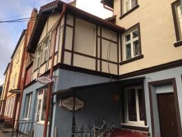 В центре Зеленоградска отремонтировали фасад исторического дома