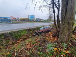 В Калининграде «Фольксваген» сбил женщину, которая шла по переходу с двумя детьми