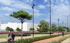 Власти готовы потратить 71 млн рублей на благоустройство территории у культурно-образовательного комплекса на Острове