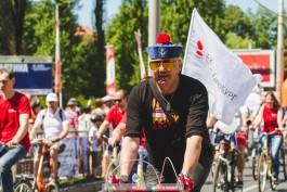 «Покатались ещё раз»: в Калининграде прошёл День колеса