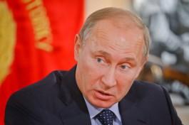 Путин назвал чушью заявления о причастности РФ к крушению самолёта Качиньского