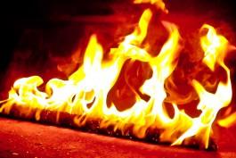 При пожаре в Гусевском округе погибли двое детей
