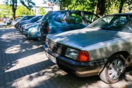 УМВД: Калининградец распылил перцовый баллончик в лицо водителю из-за парковочного места