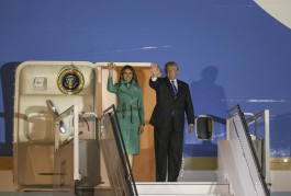 В Польшу прибыл президент США Дональд Трамп