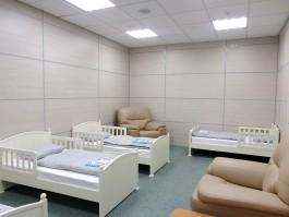 В аэропорту «Храброво» открыли обновлённую комнату матери и ребёнка