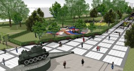 Власти рассчитывают к концу весны начать реконструкцию пешеходной зоны на Рокоссовского