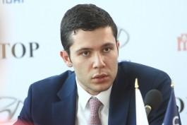 Алиханов предложил литовцам калининградский кирпич для строительства стены на границе