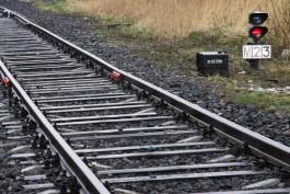 В Калининградской области поезд сбил насмерть 42-летнего мужчину