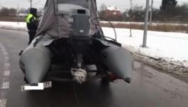 В Калининграде задержали водителя «Тойоты» с грузом янтаря
