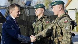 Польша восстановит ликвидированный полк недалеко от границы с Калининградской областью