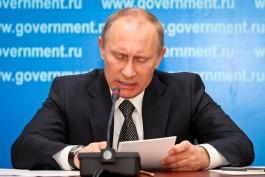 Путин продлил продовольственное эмбарго до конца 2017 года