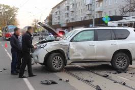 Полиция об аварии с погибшим мотоциклистом: Водитель внедорожника нарушил ПДД