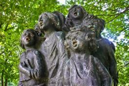 С острова Канта в Калининграде временно демонтируют скульптуры