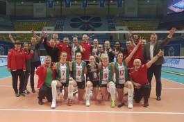Волейболистки калининградского «Локомотива» вышли в финал чемпионата России