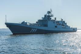 Завод «Янтарь» передал Минобороны сторожевой корабль «Адмирал Макаров»