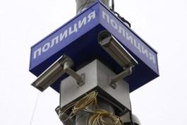 В сквере на Соммера — Рокоссовского в Калининграде установили камеры «Безопасного города»