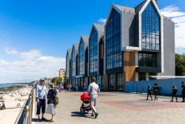 В Зеленоградске разрешили ввести в эксплуатацию гостиницу на променаде