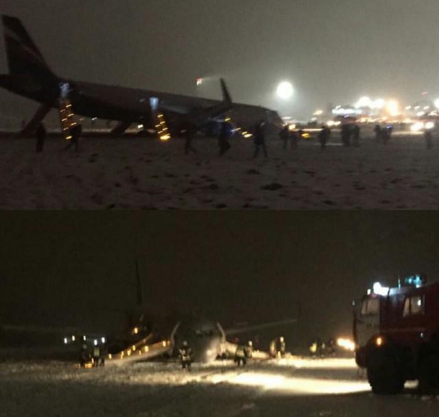 Самолёт вКалининграде мог выкатиться заВПП из-за эффекта аквапланирования