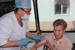 За неделю более 60 тысяч жителей Калининградской области сделали прививки от гриппа